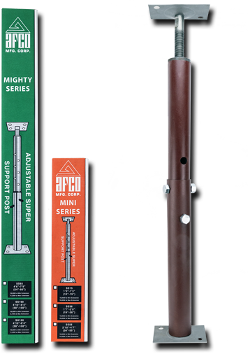 adjustable column posts